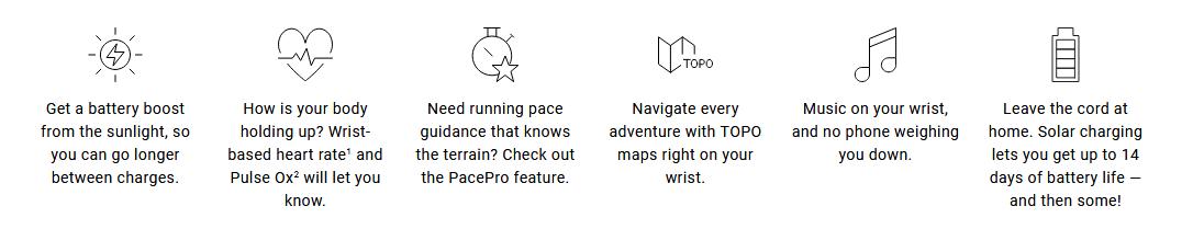 FENIX 6 Features
