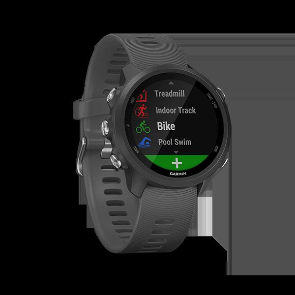 Garmin Forerunner 245 GPS Smartwatch Slate Gray, Part Number 010-02120-44