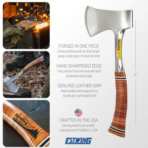 Estwing Geological Sportsman's Axe -E14A