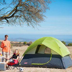 Coleman Sundome Tent, (Green)