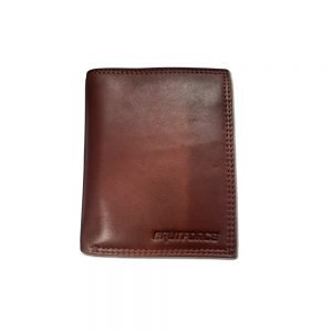Brutforce Brown Men's Wallet Stylish Genuine Leather Wallets for Men Latest Gents Purse with Card Holder Compartment (BFW001)