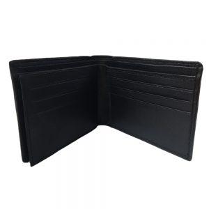 Brutforce Leather Wallet For Men With Credit Card Holders (Black) BFW004